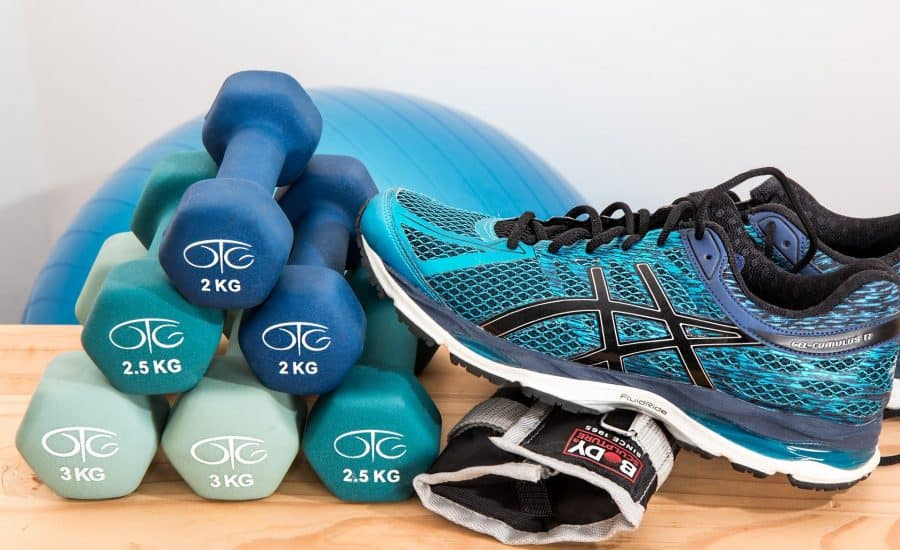 Weights and shoes